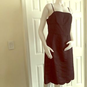 Ann Taylor Black Slip Dress 12 New